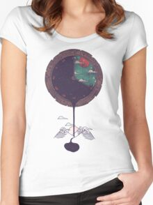 Night Falls Women's Fitted Scoop T-Shirt