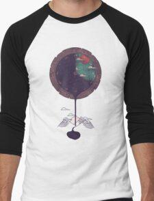 Night Falls Men's Baseball ¾ T-Shirt
