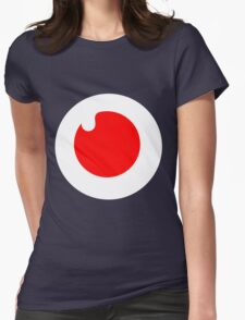 Symbols: Red Drop Womens Fitted T-Shirt