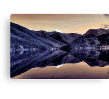 Lago di Scanno Canvas Print