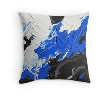 Abstract Acrylic Painting  Throw Pillow