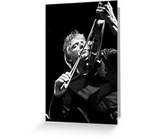 Didier Lockwood Greeting Card