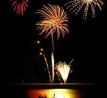 Fireworks Beach Festival, Busselton by Julia Harwood