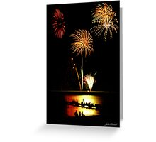 Fireworks Beach Festival, Busselton Greeting Card