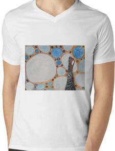 Original Illustration  Mens V-Neck T-Shirt