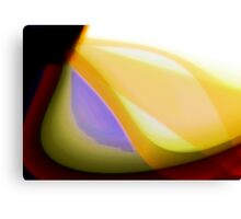 Red orange yellow fade Canvas Print
