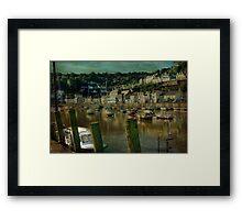 Looe Harbour Framed Print