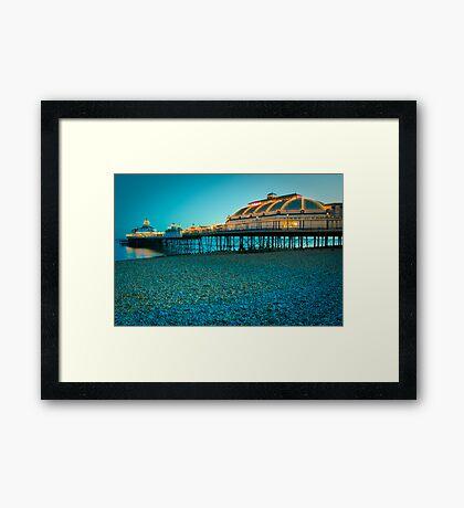 Eastbourne Pier at Dusk Framed Print