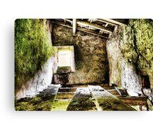 Derelict in Yorkshire Dales Canvas Print