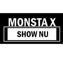 MONSTA X SHOW NU Photographic Print