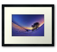 Gunnerside Gill under snow Framed Print