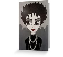souxie/ siouxsie and the banshees.. Greeting Card