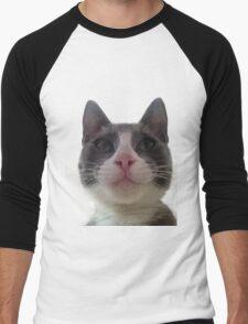 Gracie Kitty Men's Baseball ¾ T-Shirt