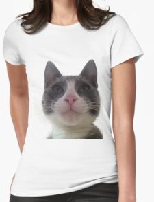 Gracie Kitty Womens Fitted T-Shirt