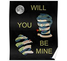 Will You Be Mine Two heads Poster