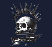 misfit skull Baby Tee