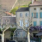 Peaceful French Village Scene by Susan Moss