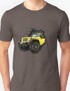 Jeep Truck Offroad Cars 3D T-Shirt
