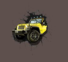 Jeep Truck Offroad Cars 3D Unisex T-Shirt