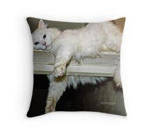 Mikey's Hangout Throw Pillow