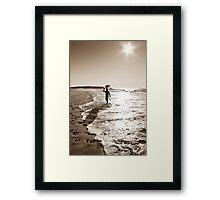 Summer Surf Framed Print