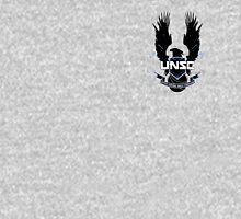 UNSC logo Zipped Hoodie