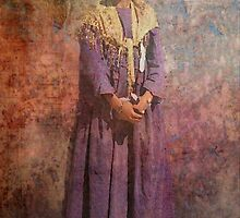 Herero Girl Namibia by Marie Luise  Strohmenger