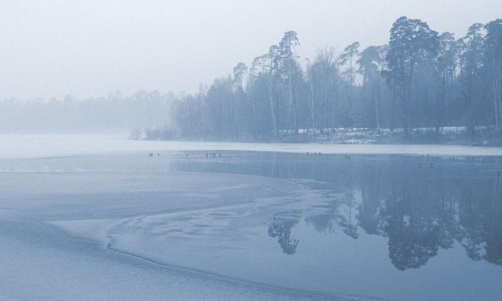 Winter Reflections by Kasia Nowak