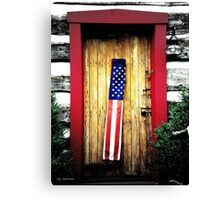 Patriots Welcome Canvas Print
