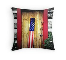 Patriots Welcome Throw Pillow