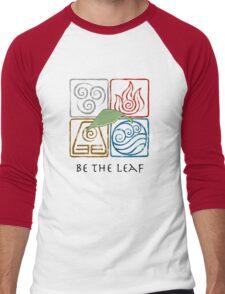 Be The Leaf Men's Baseball ¾ T-Shirt