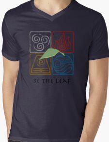 Be The Leaf Mens V-Neck T-Shirt