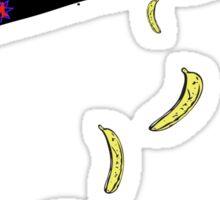 banana plane for rogers bros construction co Sticker