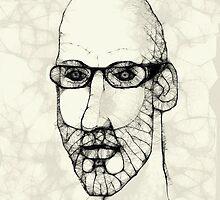 self portrait by Stephen Mclaren