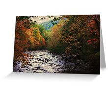 Up The Creek Greeting Card