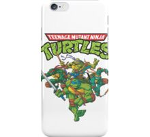 Teenage Mutant Ninja Turtles Inspired Animation Cartoon  iPhone Case/Skin