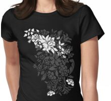 White Spring Womens Fitted T-Shirt