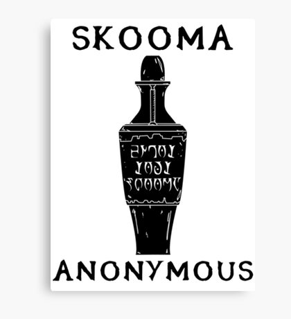 Skooma Anonymous Canvas Print