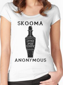 Skooma Anonymous Women's Fitted Scoop T-Shirt