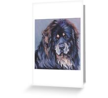Tibetan Mastiff Fine Art Painting Greeting Card