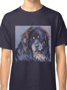 Tibetan Mastiff Fine Art Painting Classic T-Shirt