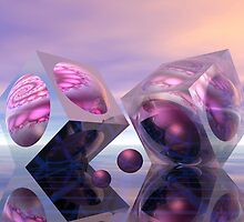 Spirals in cubes by walstraasart