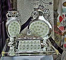 Silver Treasure In The Window by Jane Neill-Hancock