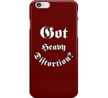 Got Heavy Distortion iPhone Case/Skin
