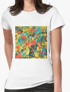 Vivid Fall Colors  Womens Fitted T-Shirt