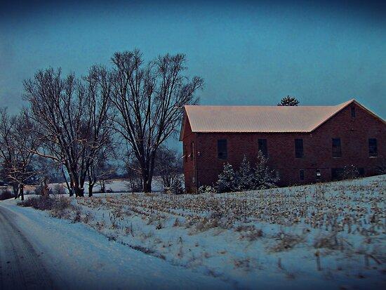 Blue Winter Morning by David Dehner
