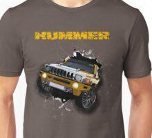 Hummer Truck 3D Design Unisex T-Shirt