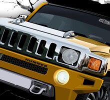 Hummer Truck 3D Design Sticker