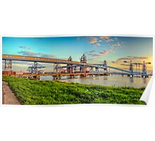 The Old Grain Terminal  Poster