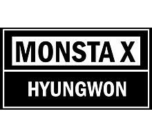 MONSTA X HYUNGWON Photographic Print
